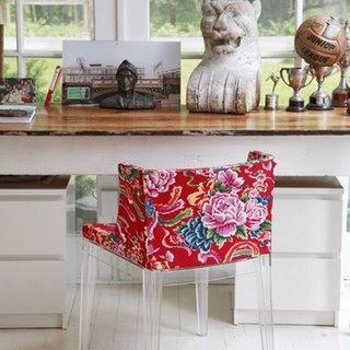 chita e a cadeira de philippe starck