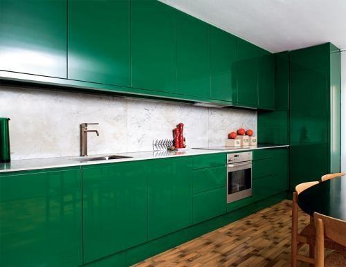 Cor verde no blog detalhes magicos