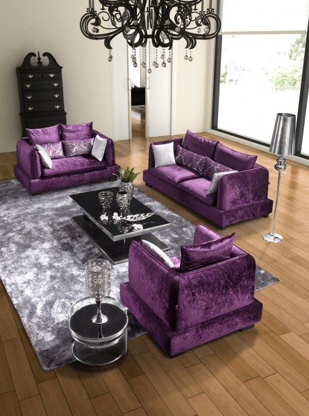 black and purple living room decor sem medo da cor detalhes m 225 gicos 25176