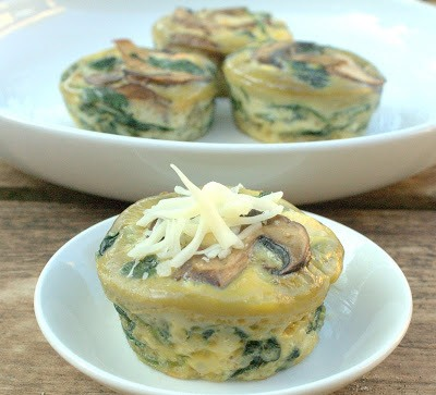 Mini quiches de espinagre no blog detalhes magicos