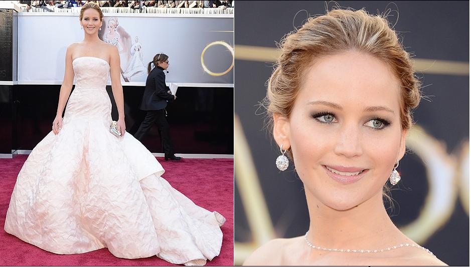 Jennifer Lawrence no blog detalhes magicos