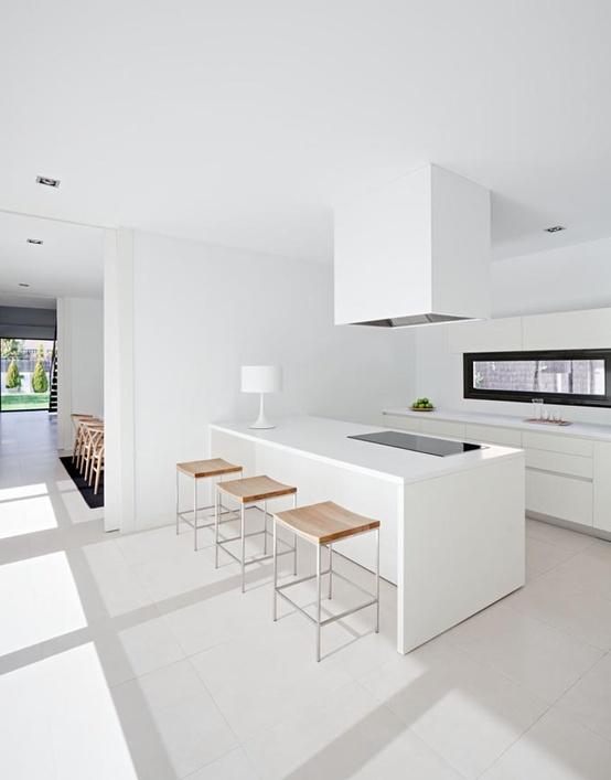 Cozinhas brancas e revestimentos no blog detalhes magicos