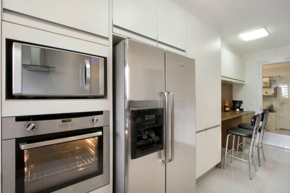 Cozinha branca e revestimentos no blog detalhes magicos