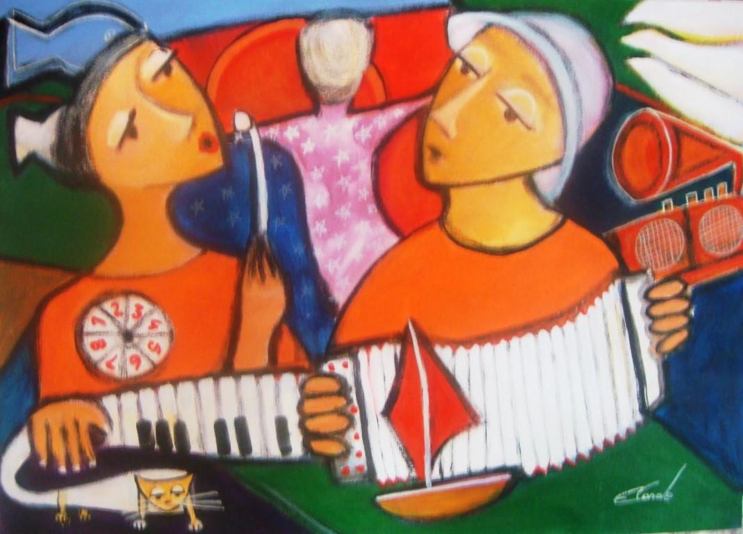 Artista pástica Eneida Conde no blog Detalhes Magicos