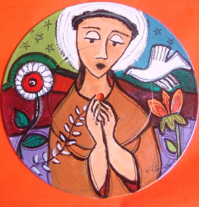 Artista plastica Eneida Conde no blog Detalhes Magicos