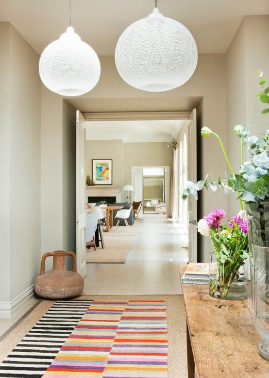 5 ideias hall de entrada detalhes m gicos - Lamparas para pasillos casa ...