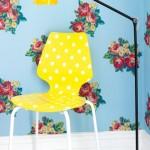 Cadeira pintada no blog detalhes magicos