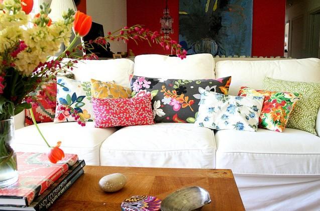 Almofadas no blog detalhes magicos