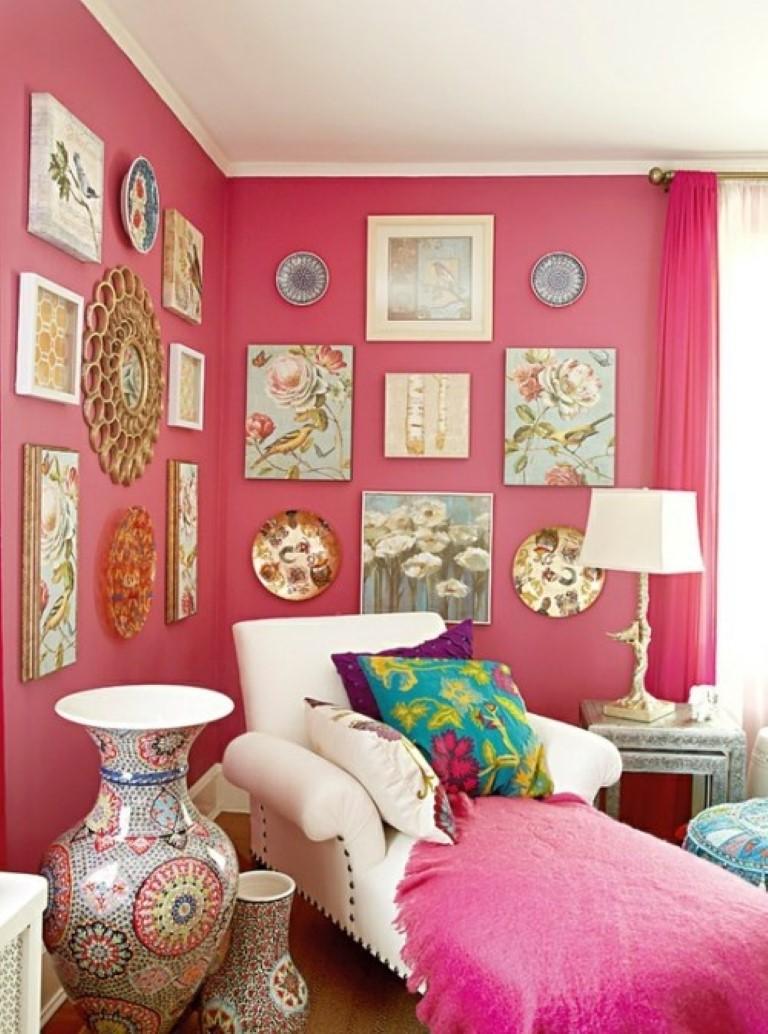 Cor nas paredes no blog Detalhes Magicos