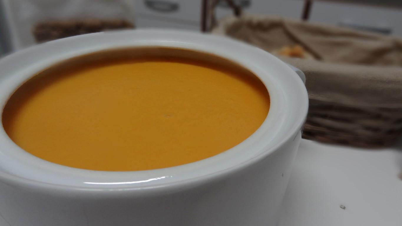 Sopa de cenoura no blog Detalhes Magicos