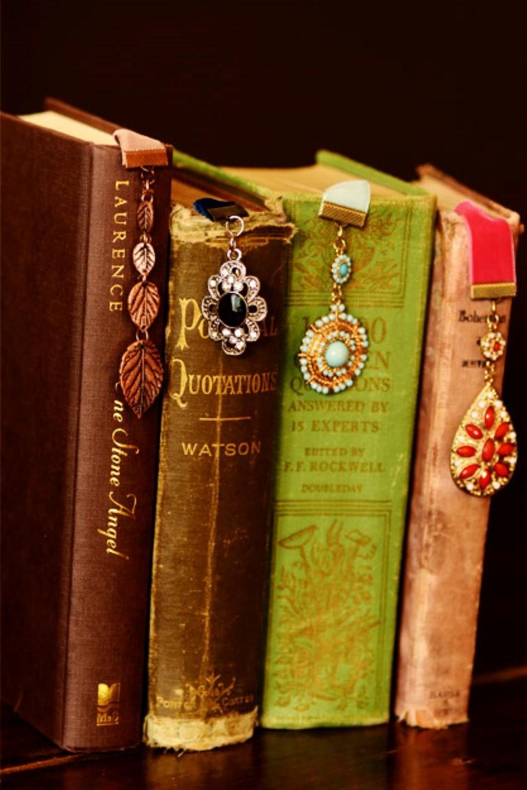 Marcadores de livros no blog detalhes magicos