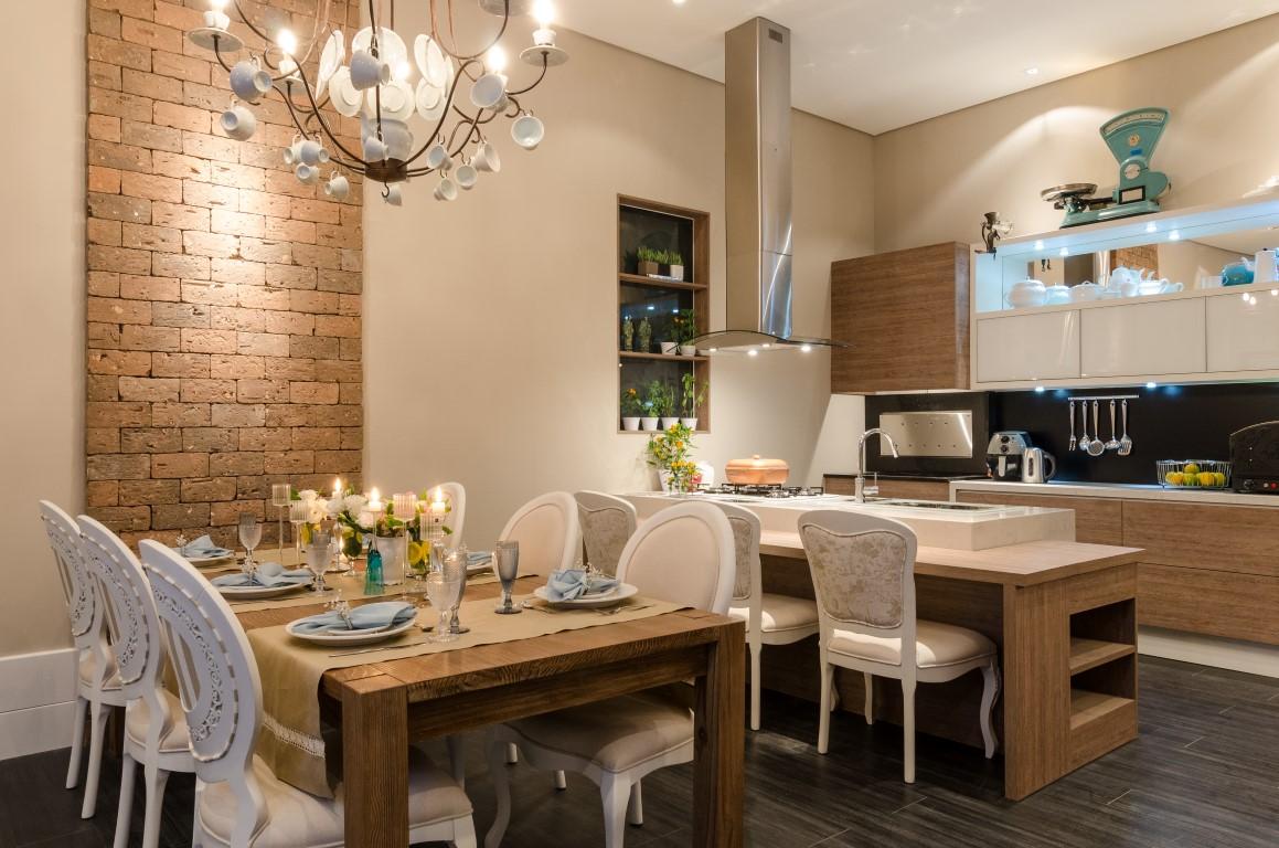 cozinhas integradas com sala de jantar no Pinterest Madeira Salas #90653B 1159 768