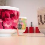 Bordando porcelana no blog Detalhes Magicos