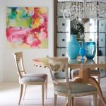 Salas de jantar inspiradoras no blog Detalhes Magicos