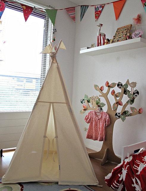 Cabana no quarto, blog Detalhes Magicos