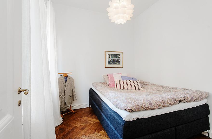 Apartamento em Estocolmo no blog Detalhes Magicos