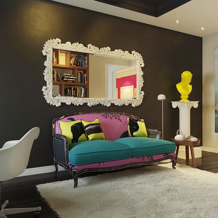 Apartamento com inspiração Pop no blog Detalhes Magicos
