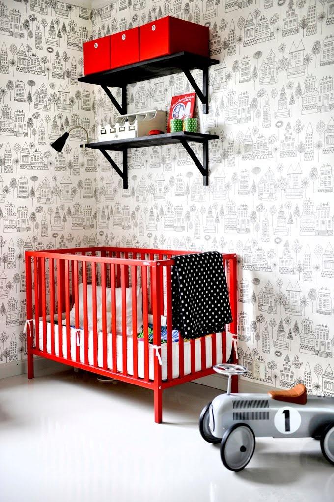 Papel de parede para quarto de crianças no blog Detalhes Magicos
