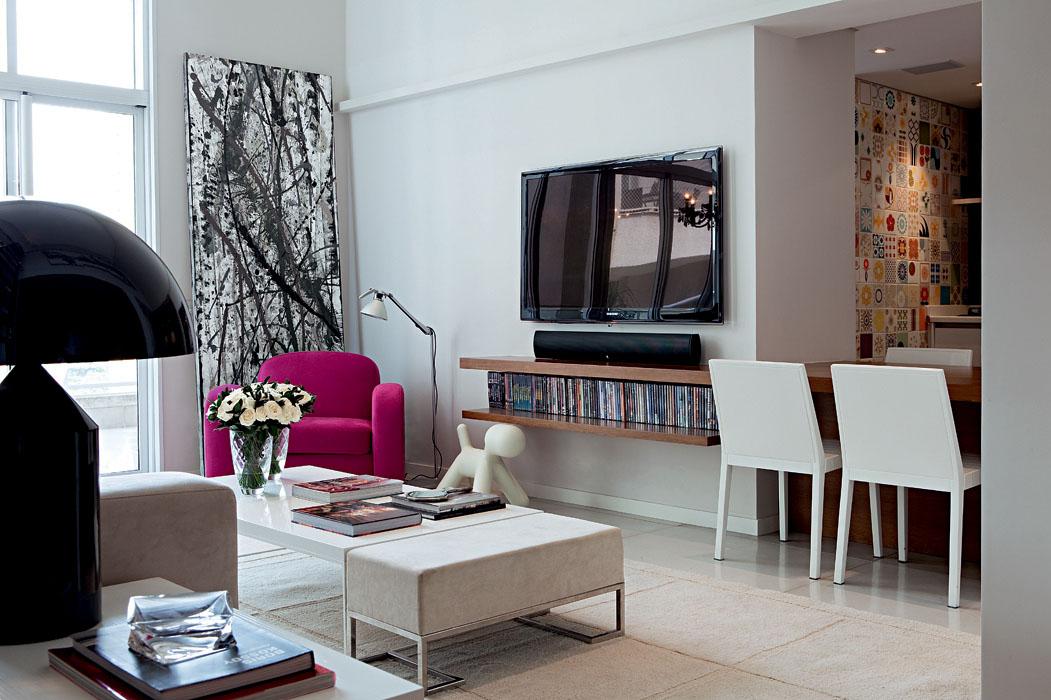 Equil brio com toques femininos detalhes m gicos for Decoracion apartamentos modernos 2017