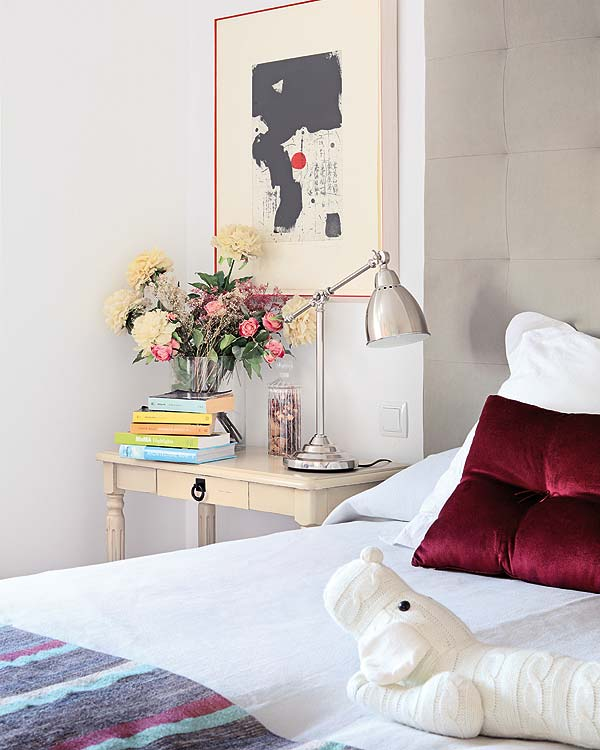 Casa em Madri, bairro Chamartin no blog Detalhes Magicos
