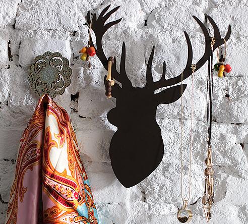Cabeças de alce no blog Detalhes Magicos