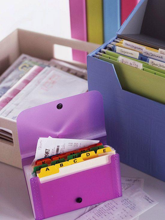 Organização dos arquivos pessoais no blog Detalhes Magicos