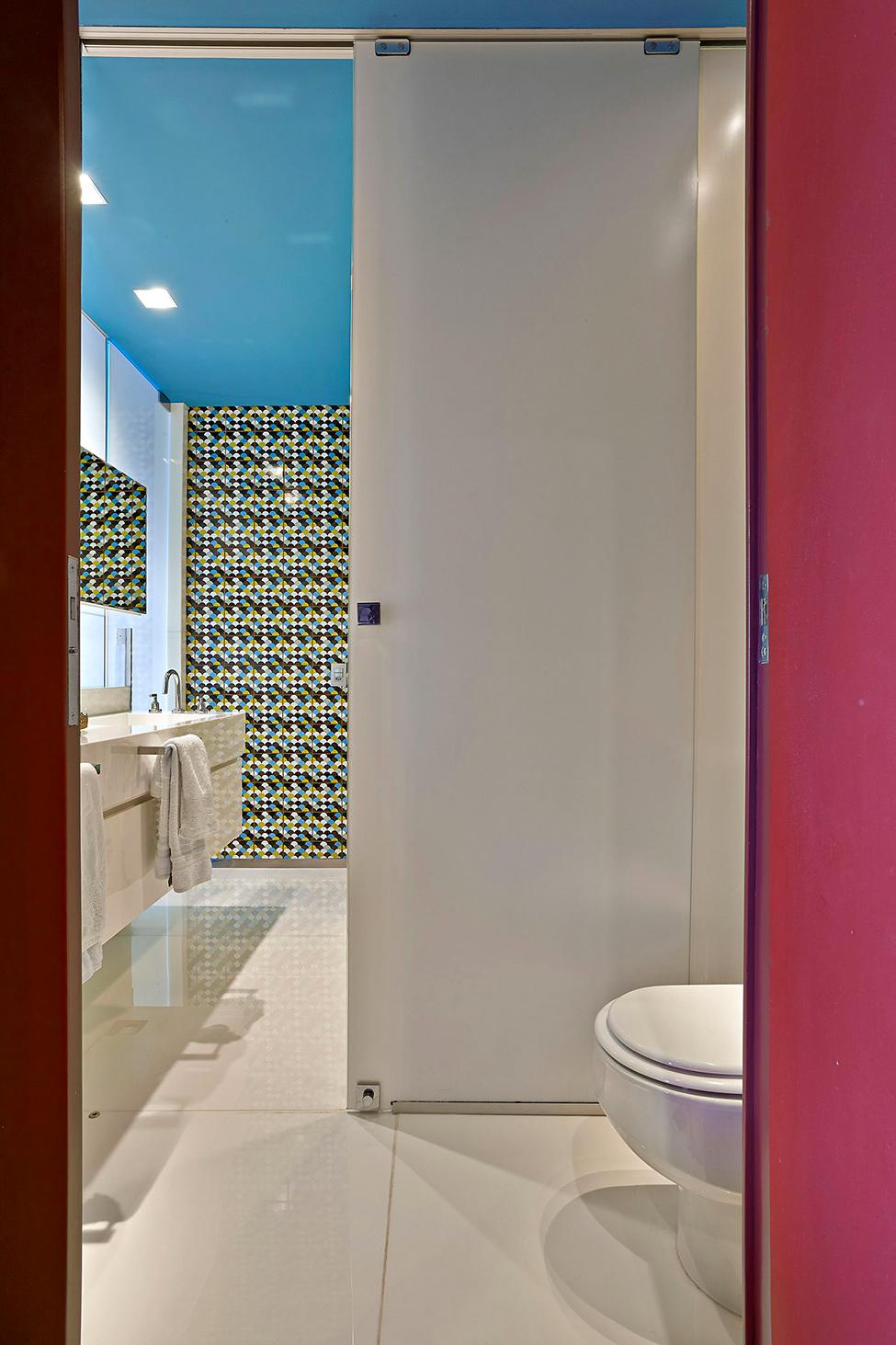Apartamento colorido em Belo Horizonte no blog Detalhes Magicos