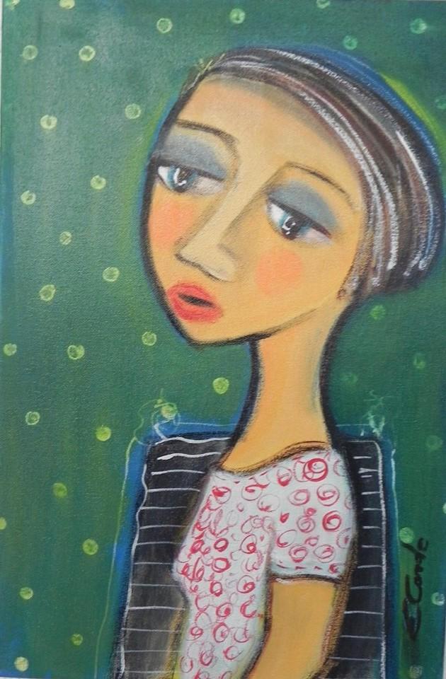 Arte de Eneida Conde no blog Detalhes Magicos