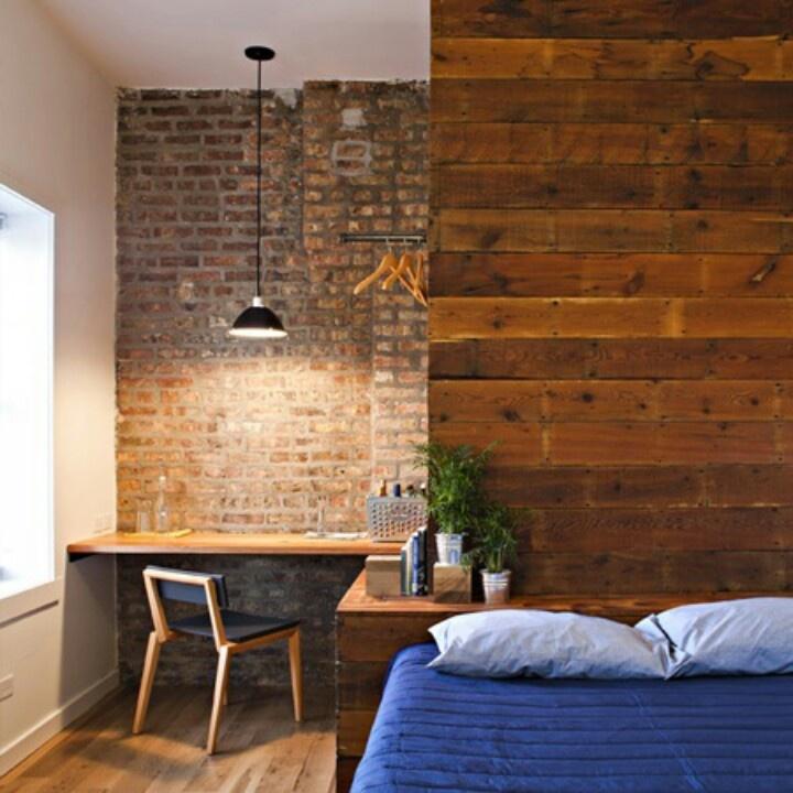 Charmosas paredes com pallets detalhes m gicos - Paredes rusticas interiores ...