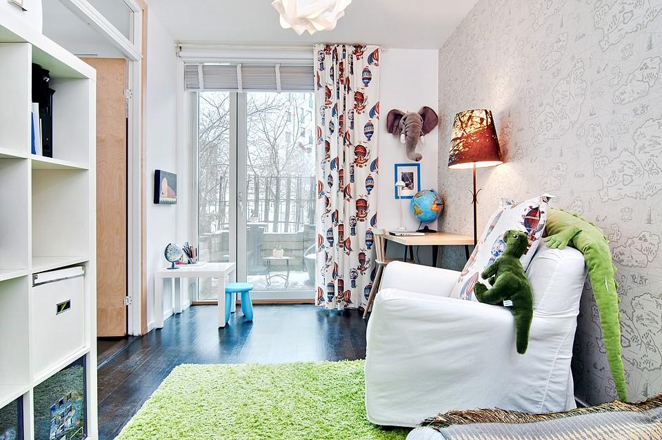 Apartamento em Estololmo no blog Detalhes Magicos
