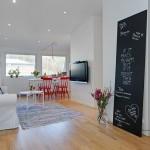 Pequeno apartamento em Gotemburgo, no blog Detalhes Magicos