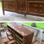 Antes e depois, renovar moveis no blog Detalhes Magicos