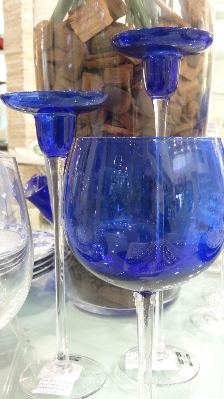 Mesa azul da Roberto Simões no blog Detalhes Magicos