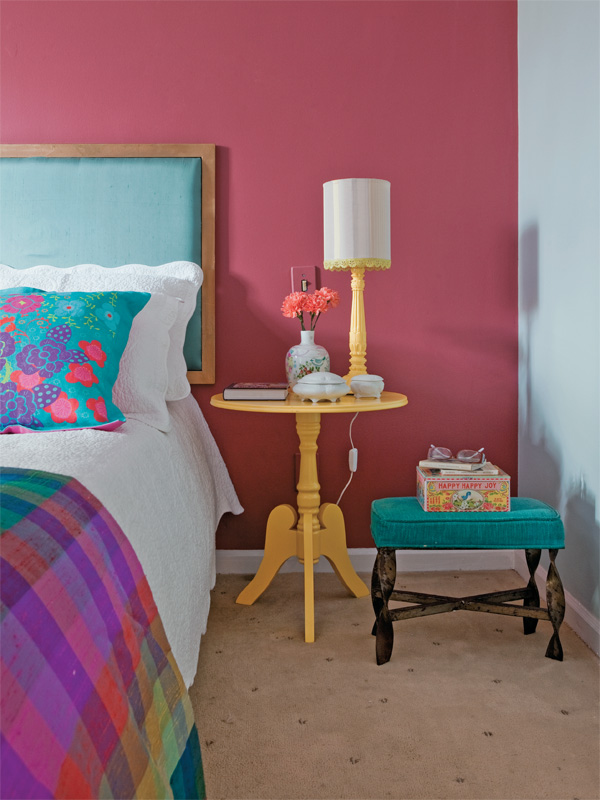 Pintas as paredes do quarto no blog Detalhes Magicos