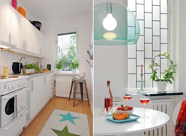 Apartamento pequeno no blog Detalhes Magicos