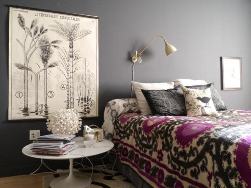 Cinza nas paredes no blog Detalhes Magicos