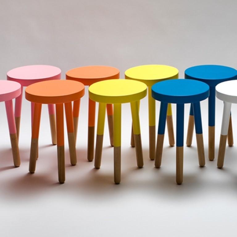 Dip dye ou pintando so a metade, no blog detalhes magicos