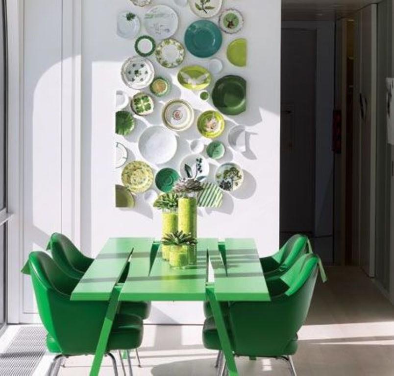 Antes e depois de um balcão e um verde lindo... no blog Detalhes Magicos