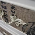 Comodas forradas com tecido no blog Detalhes Magicos