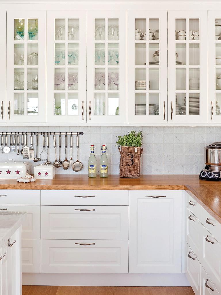 Cocina Blanca Vitrina ~ Gormondo.com = Inspirador y Elegante Diseño ...