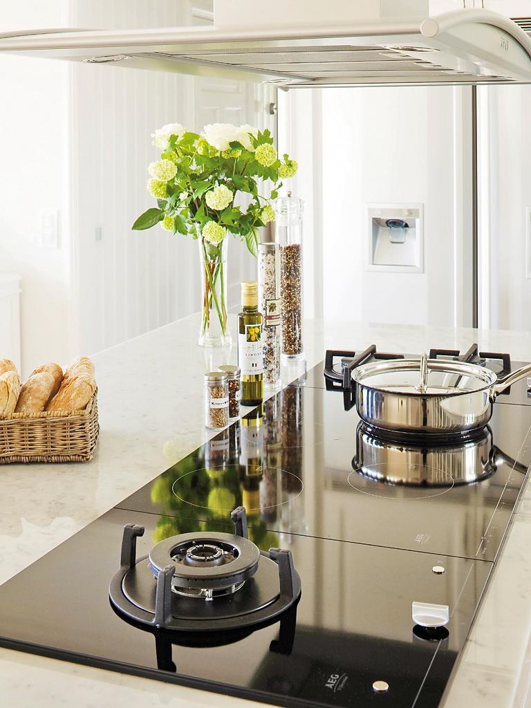 Cozinha com ilha central no blog Detalhes Magicos
