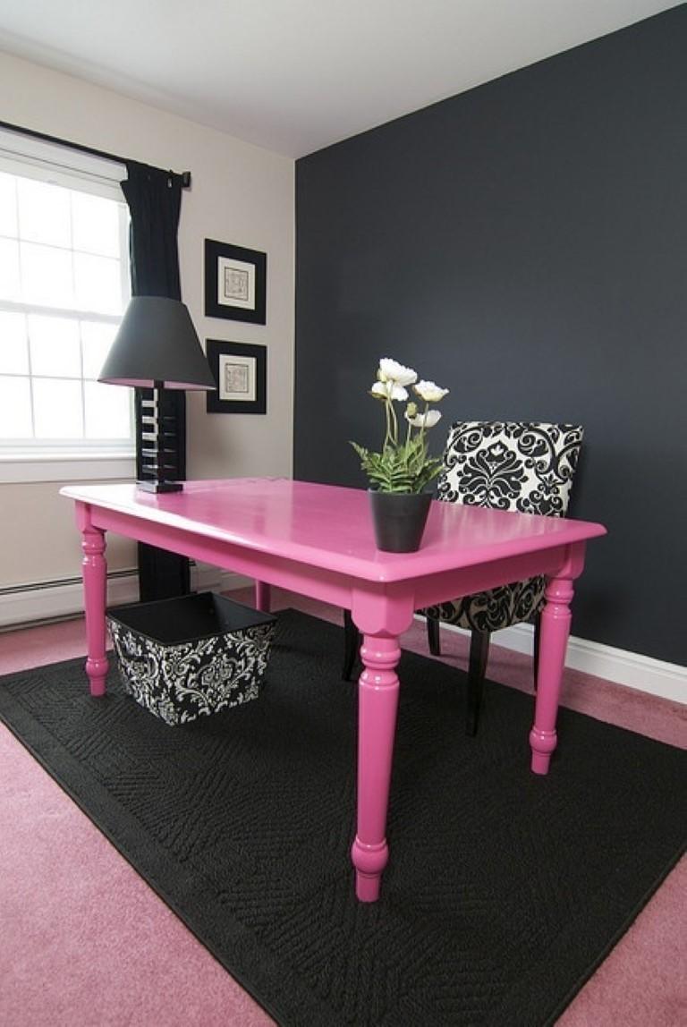 Mesa de jantar colorida no blog Detalhes Magicos