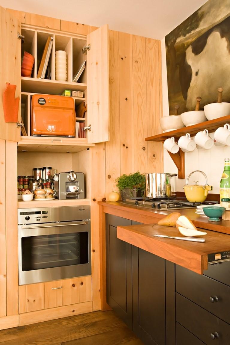 Cozinha de madeira no blog Detalhes Magicos