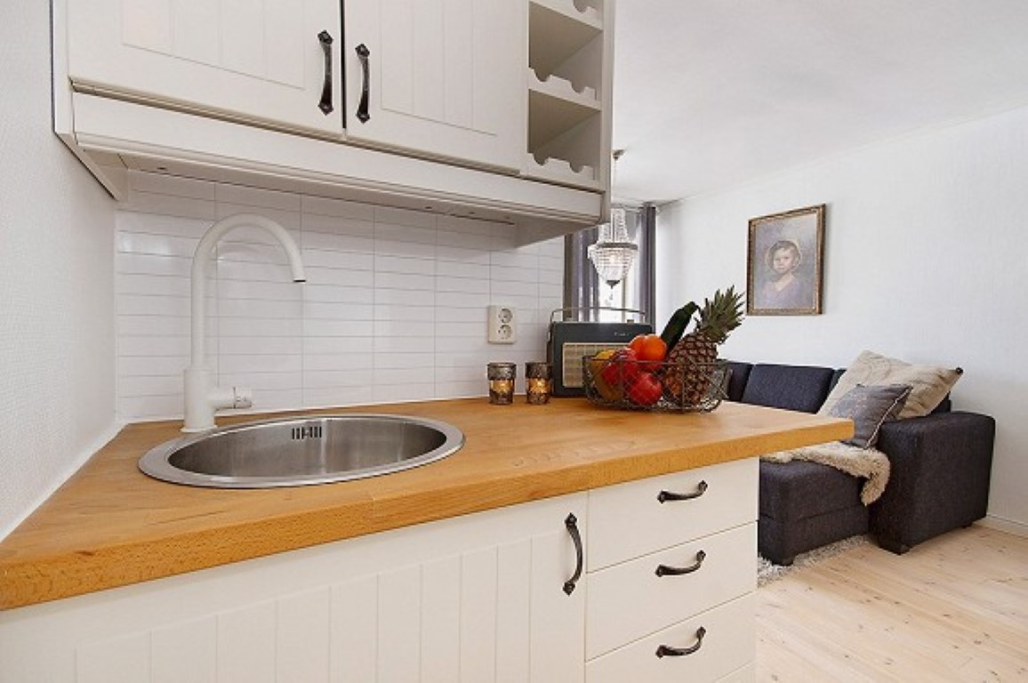 Pequeno apartamento de 26m² no blog Detalhes Magicos