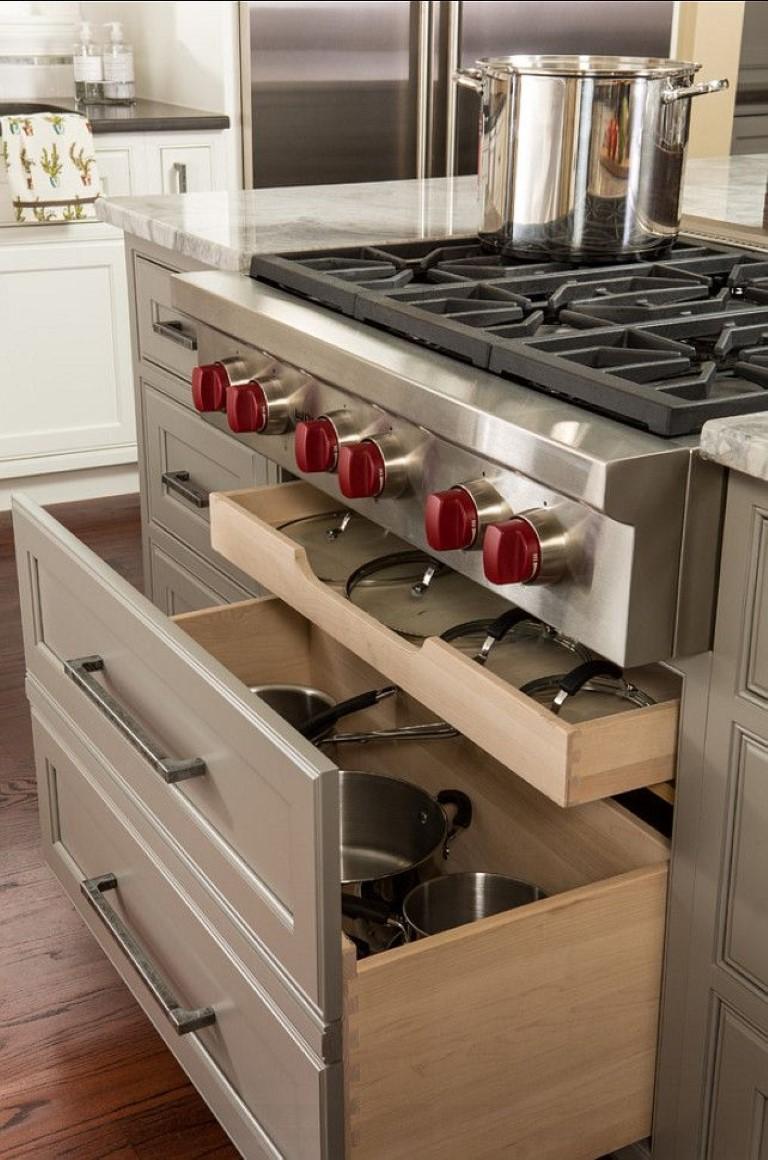 Organizar gavetas da cozinha no blog Detalhes Magicos