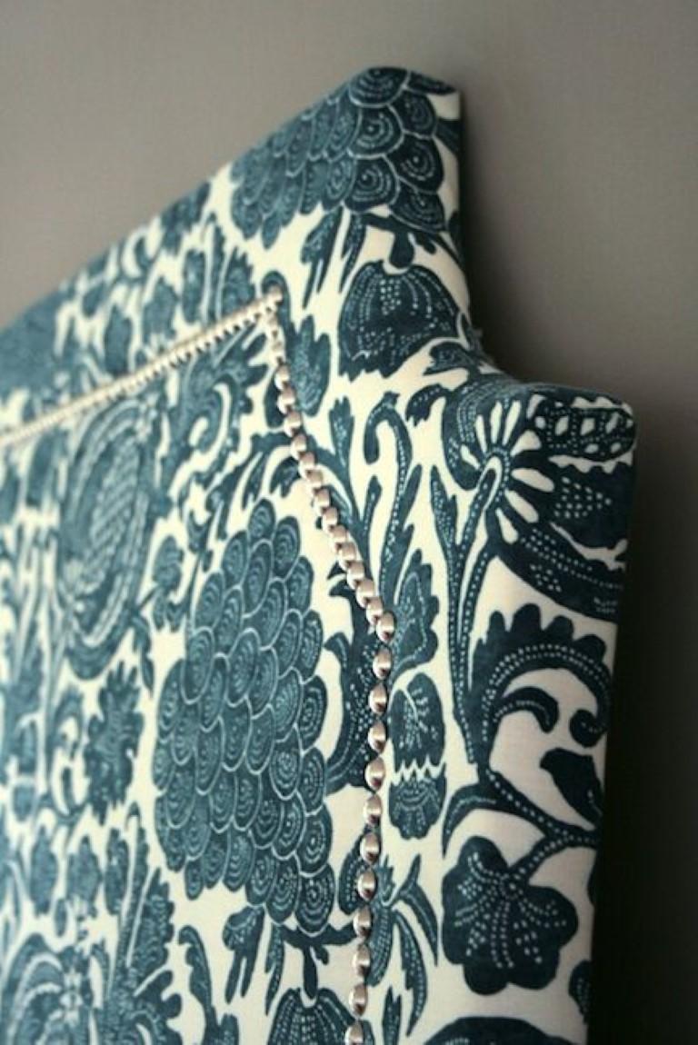 DIY de cabeceiras forradas no blog Detalhes Magicos