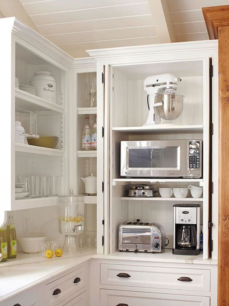 Onde guardar os eletrodom sticos detalhes m gicos for Extra storage for small kitchen