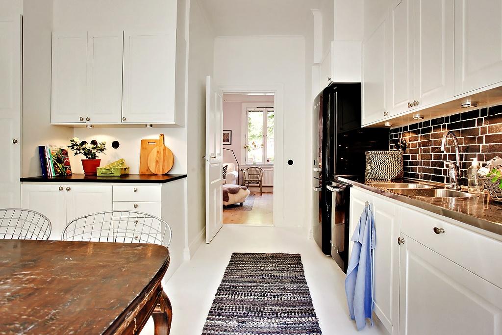 Apartamento sueco no blog Detalhes Magicos