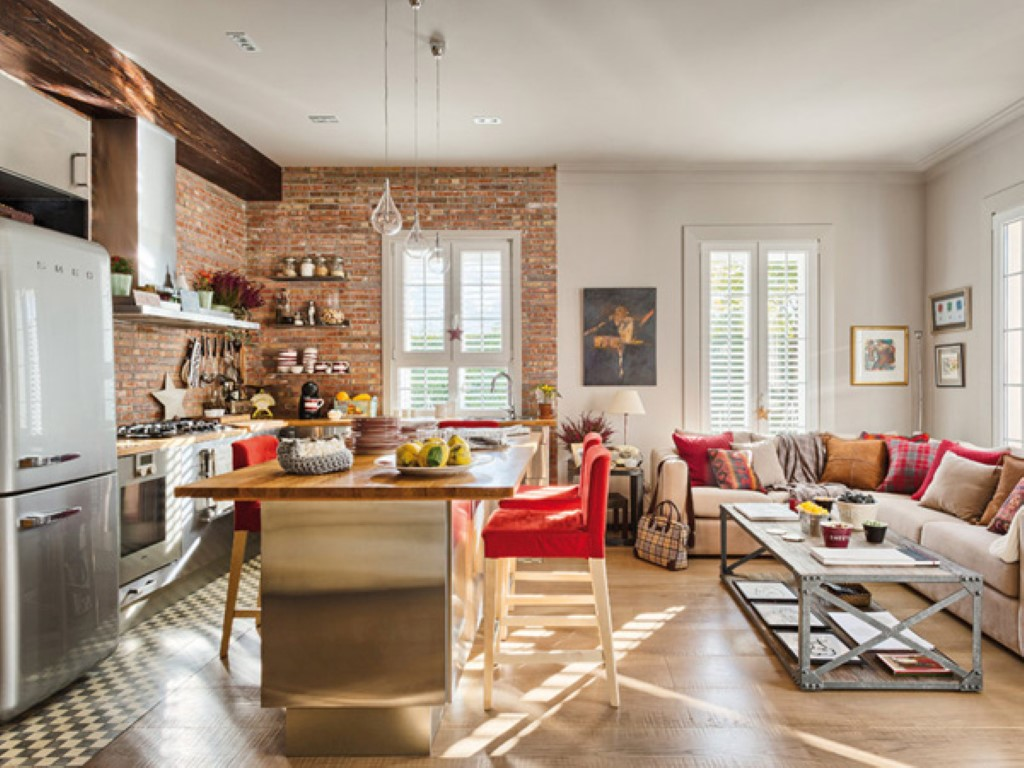 E Se A Sua Cozinha Fosse Integrada Sala Etc Entretantascoisas  -> Sala E Cozinha Integrada Como Decorar