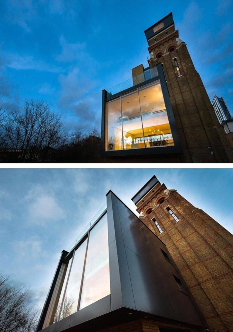 Casa na Torre da água em Kennington, blog Detalhes Magicos